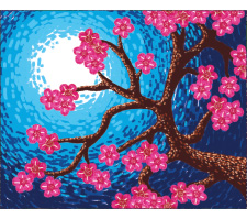 Oil Pastels: Cherry Blossoms