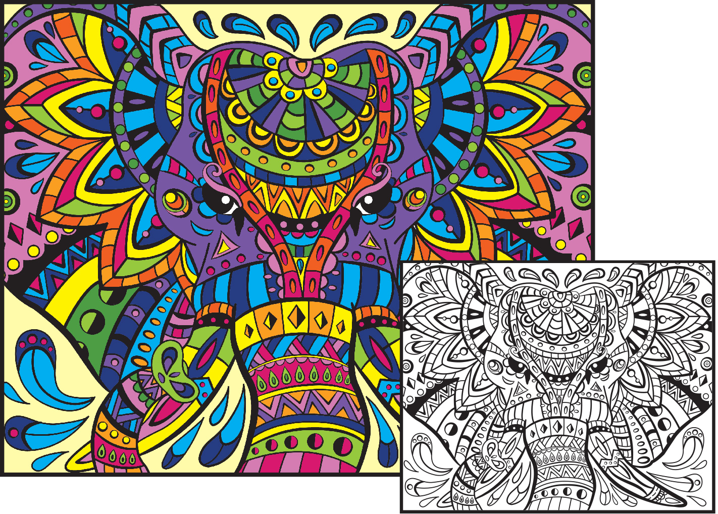 94 Coloring Pages For Adults Examples