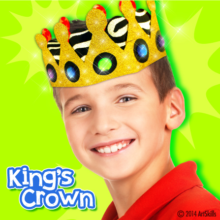 Duct Tape King's Crown