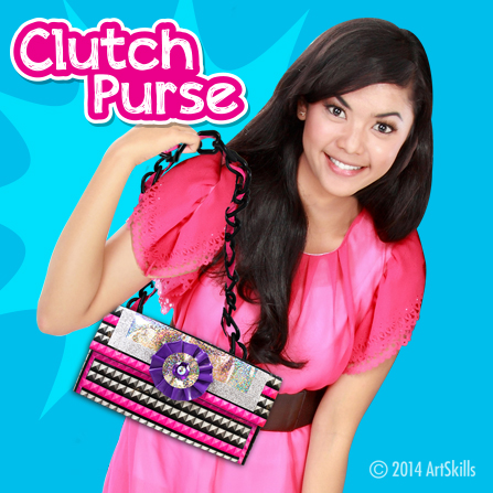 Duct Tape Clutch Purse