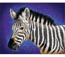 Acrylic Painting: Safari Zebra