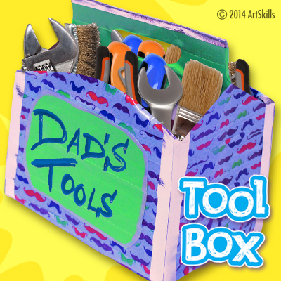 Duct Tape Tool Box