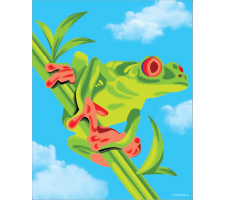 Marker: Tropical Tree Frog