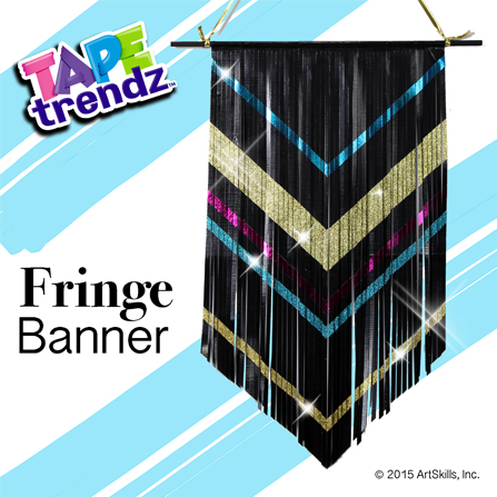 Fringe Duct Tape Wall Banner