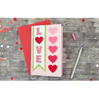 Painted Heart Card