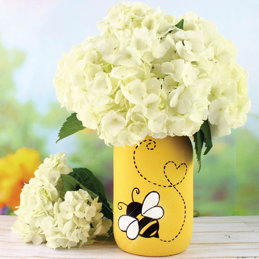 Just BEE-cause Vase