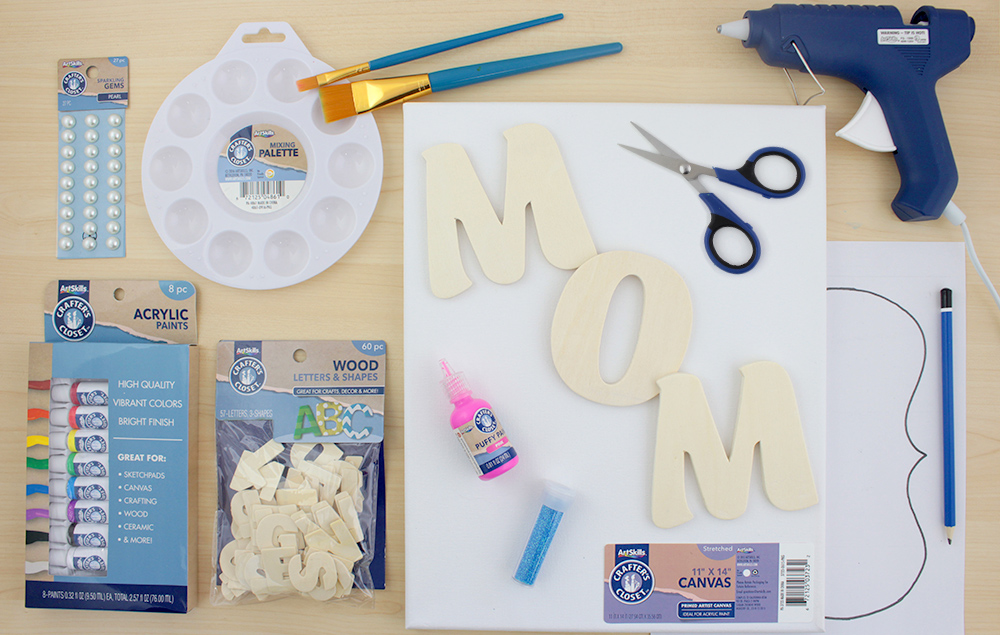 Mother S Day Canvas Craft Ideas Holiday Crafts