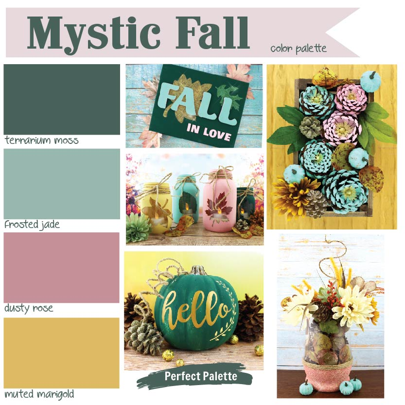 Mystic Fall Inspiration Palette