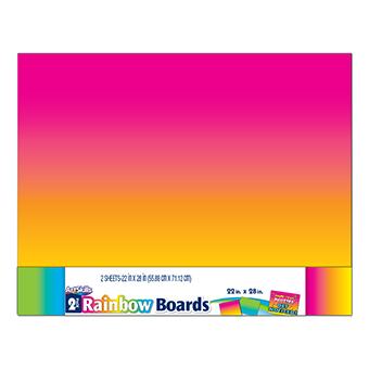 2 pack rainbow boards