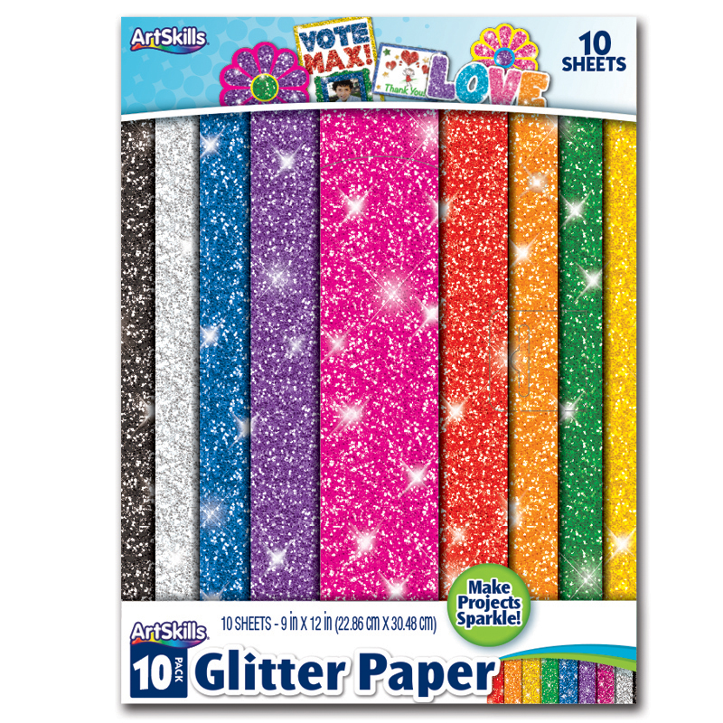 Glitter Paper | Easily Add Glitter to Your Project