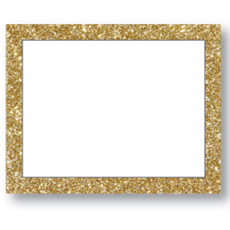 Gold Glitter Frame Board| Make a Poster | Poster Supplies