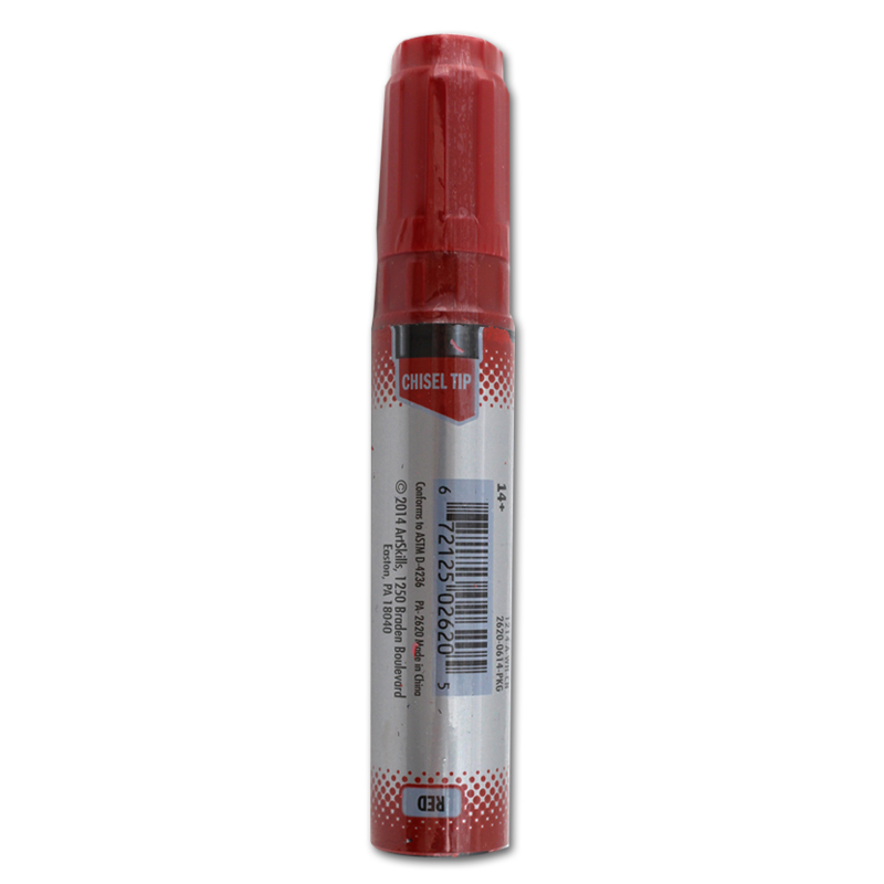 NEW Art Skills Chisel Tip B.A.M Big Area Marker GREEN//RED PACK
