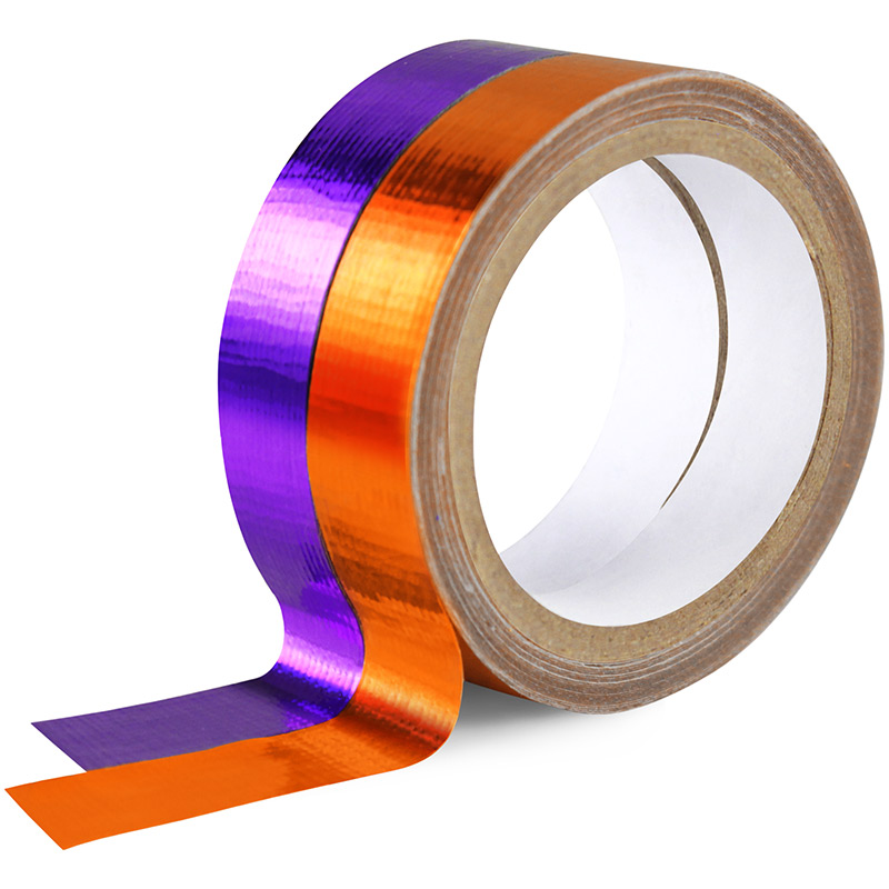 Purple orange mini duct tape trendz mini duct tapes from for Mini duct tape crafts