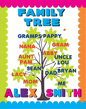 family tree posters to fill in