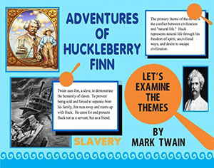 book report over huckleberry finn