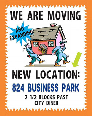 Make A Relocation Business Poster We Are Moving Poster Ideas