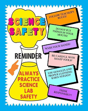 Project About Science Safety Lab Poster Ideas For Your Kids