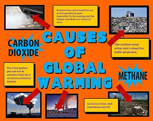 Make A Science Fair Project Causes Of Global Warming