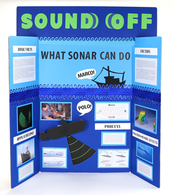 Make A Science Fair Project About How Sonar Works