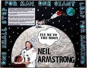 Neil Armstrong Name Cut Out (page 5) - Pics about space
