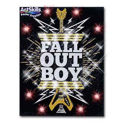Fall Out Boy Today Show Concert Poster Idea