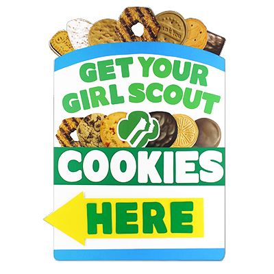 cookie girl sale scout