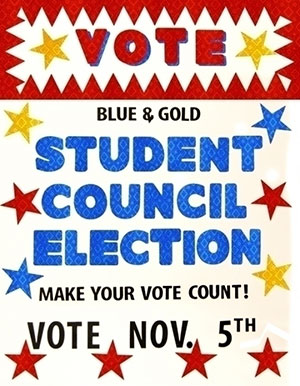 Make a Student Election Poster | School Election Poster Ideas