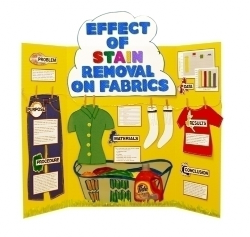 Make a Science Fair Project | Poster Ideas - Stain Removal