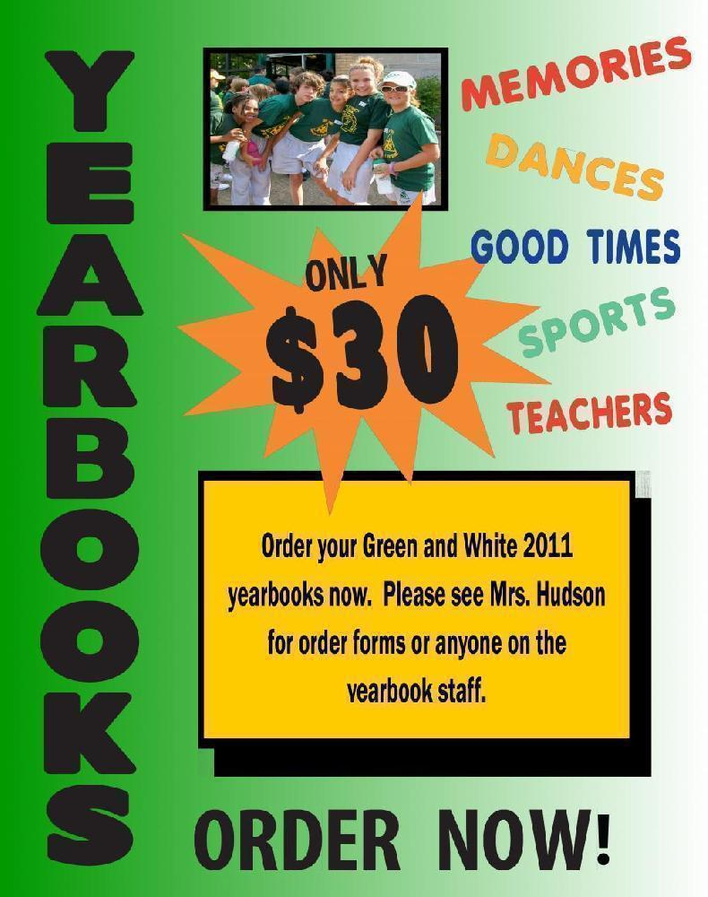 Make a Poster about School Yearbook | Yearbook Poster Ideas