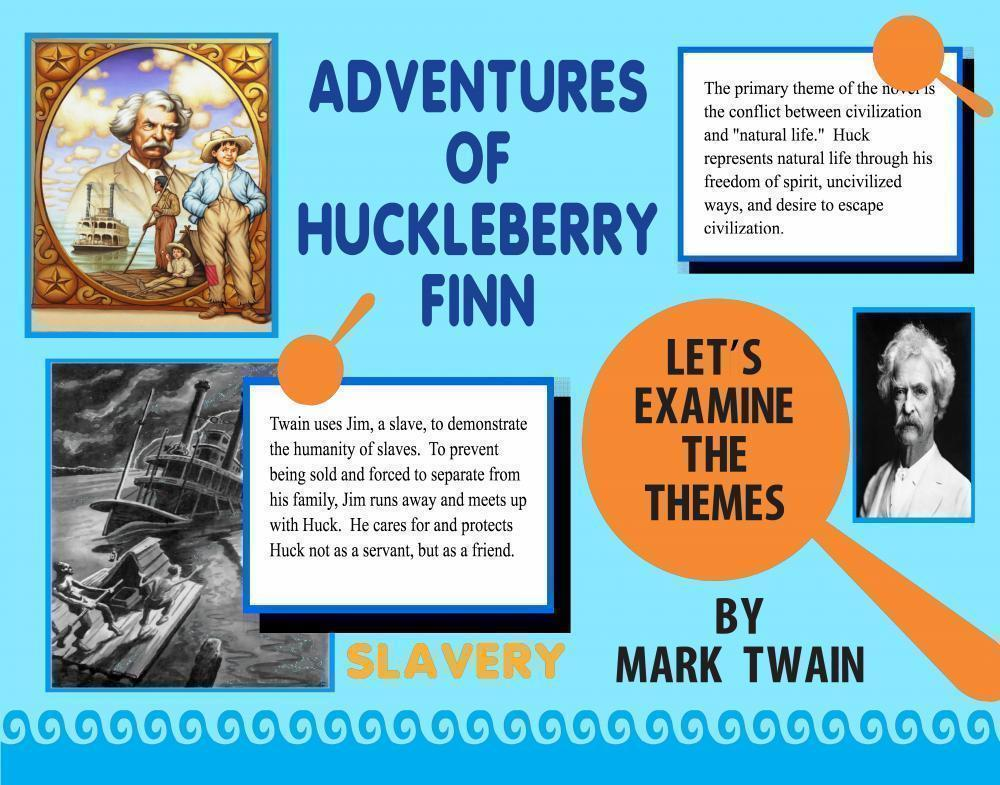 the adventures of huckleberry finn book report Mark twain's celebrated novel huckleberry finn offers an intriguing case of analysis of american racial discourse and this novel is noted for its central.
