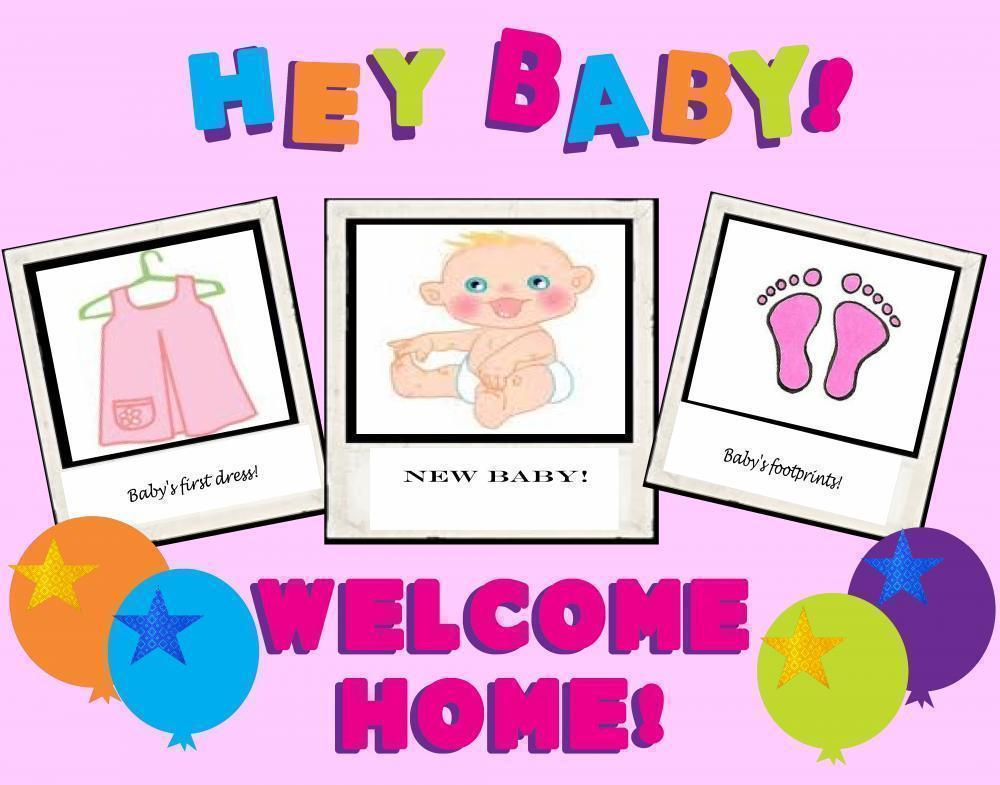 welcome home baby clip art awesome graphic library