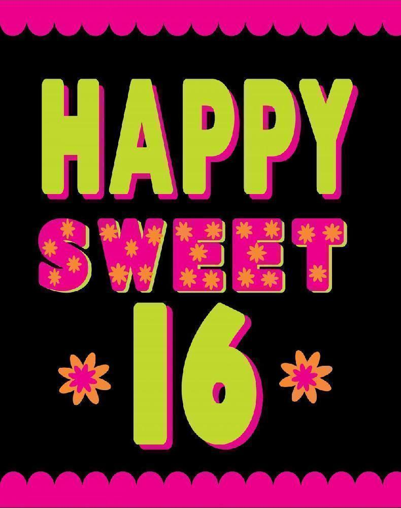 Happy Sweet 16 To Dylan S Candy Bar
