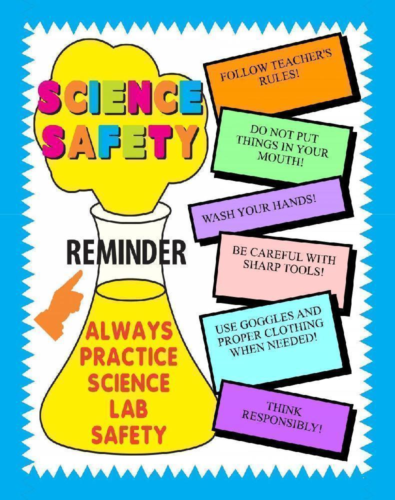 Make A Science Fair Project About Safety