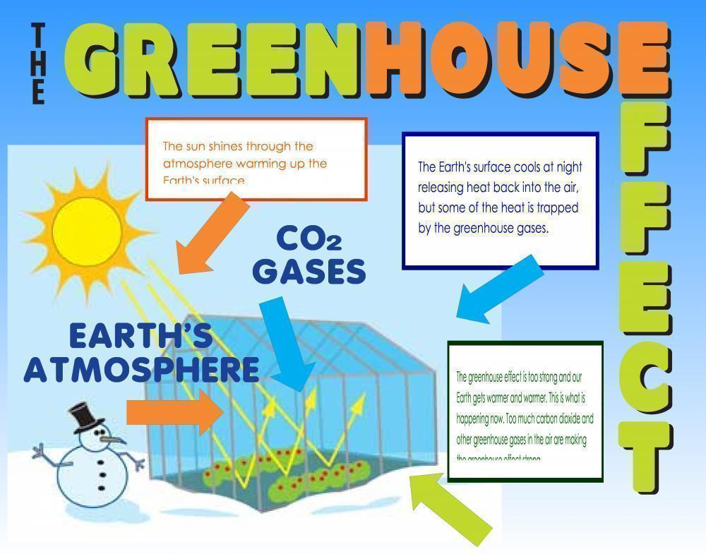 Make a Science Fair Project about Green House Effect | Earth Science ...