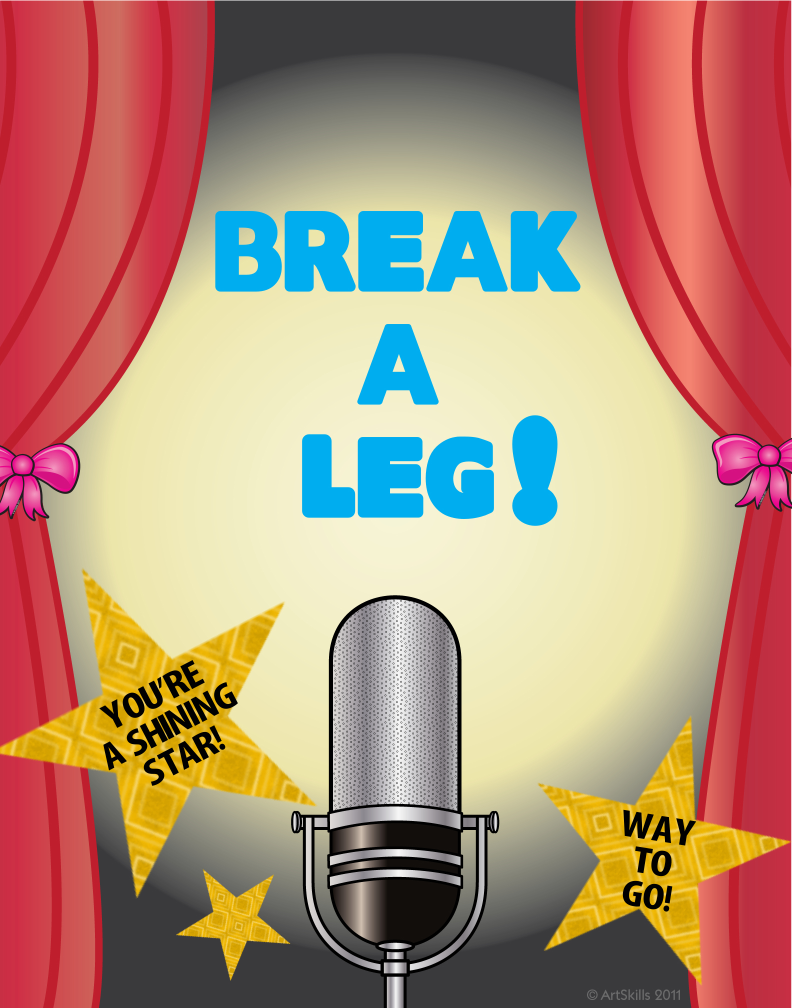 how to use break a leg