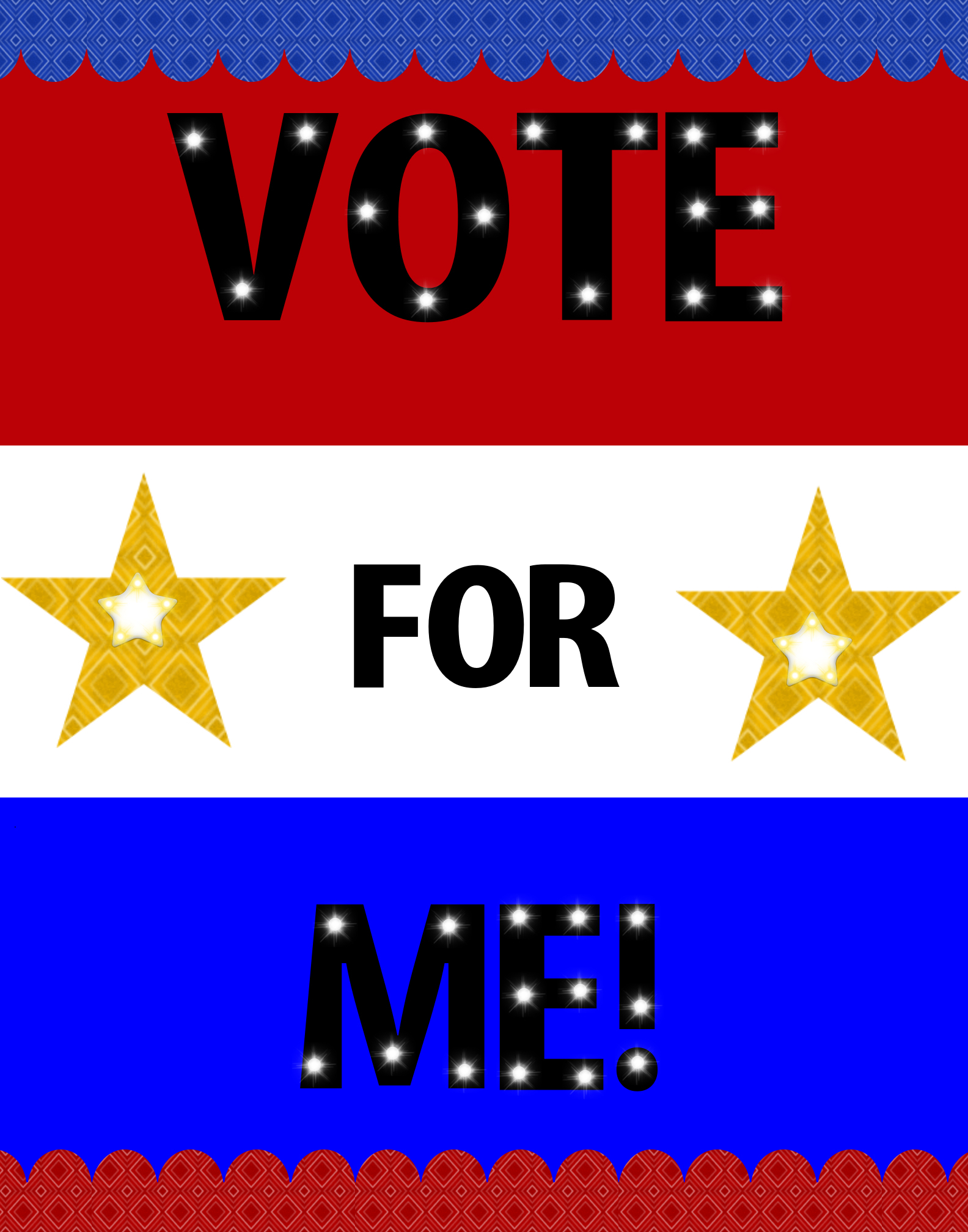 Make an Election Campaign poster   Election Poster Ideas