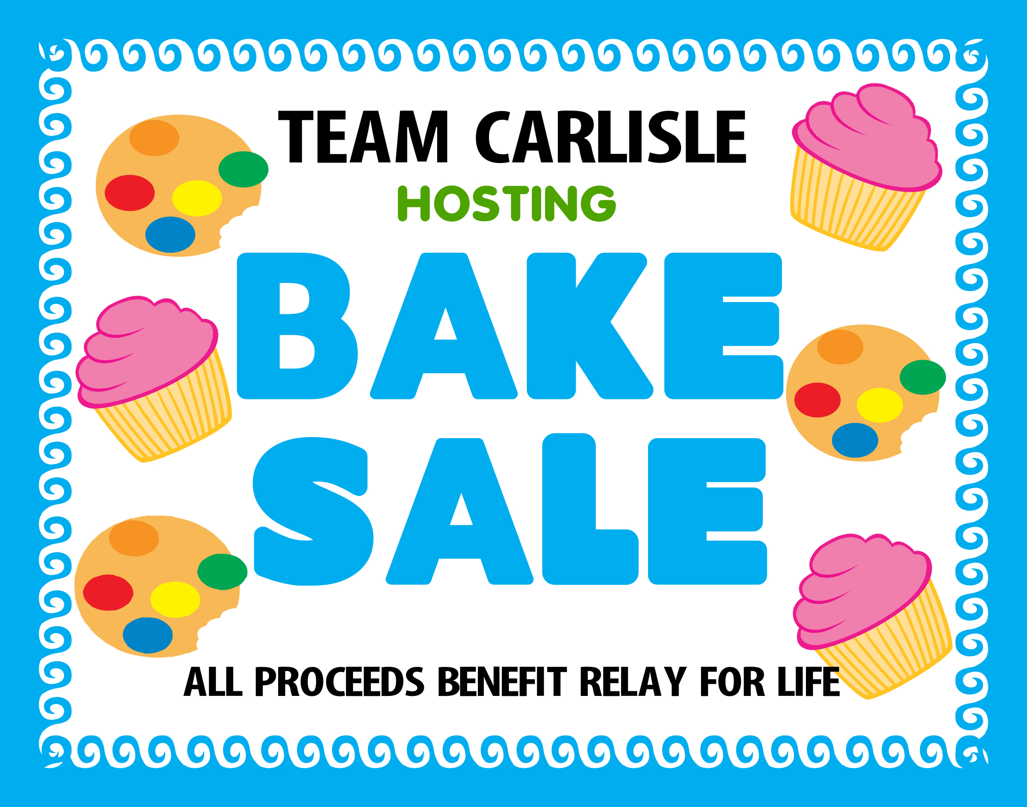 Create a Bake Sale Poster | Fundraising Poster Ideas