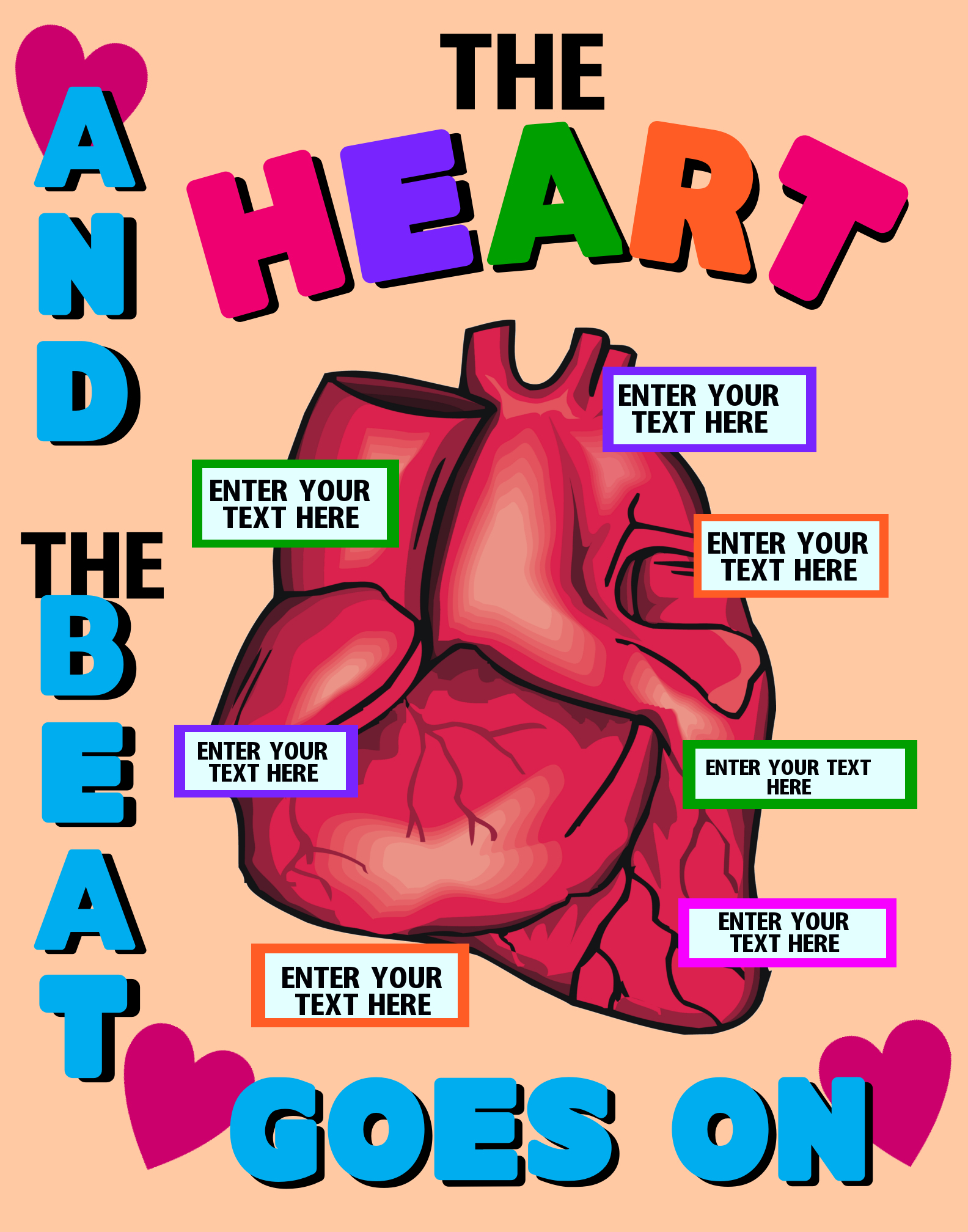 Make a Science Fair Project About the Heart | Heart Anatomy Science ...