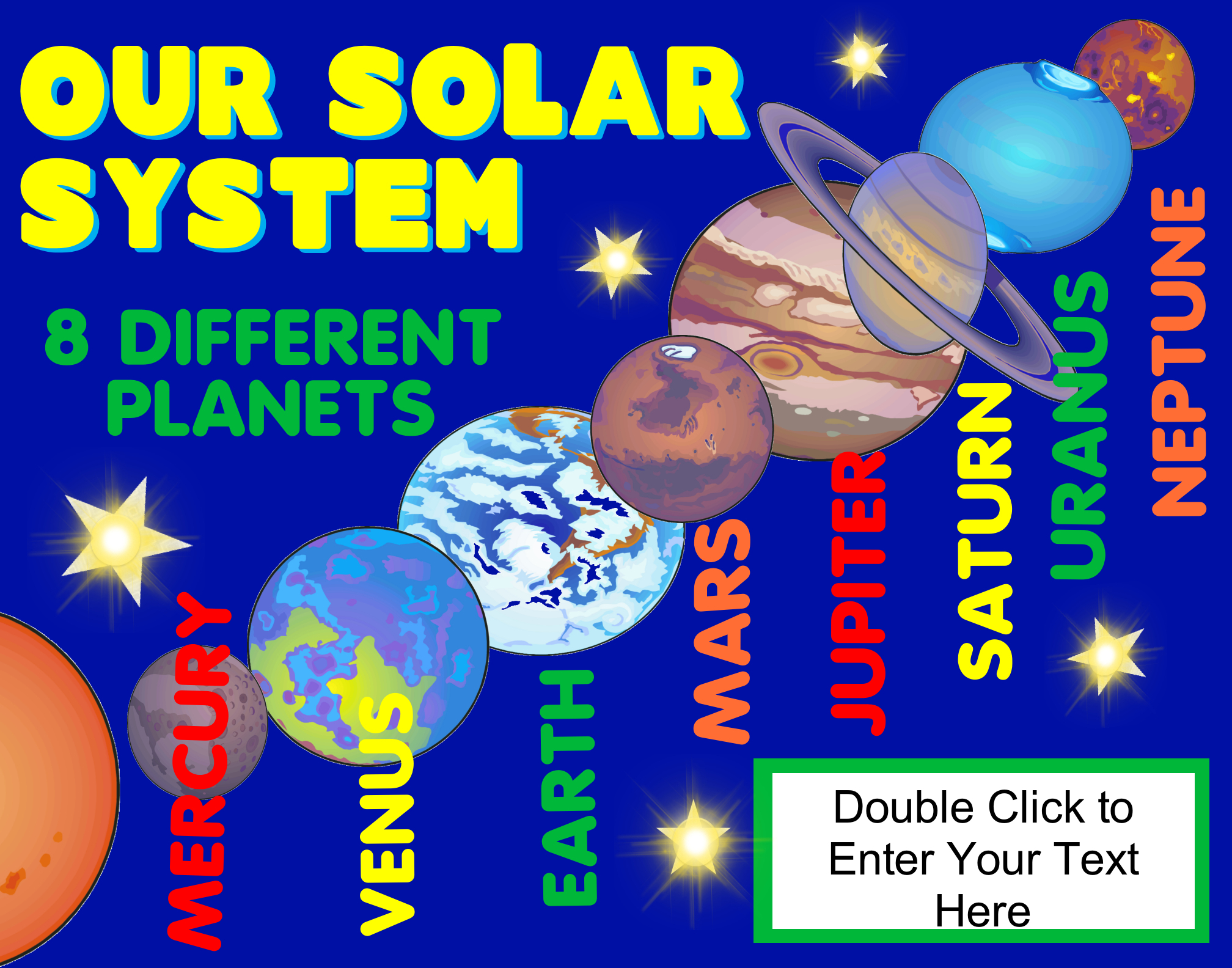 make a science fair project poster ideas solar system outer