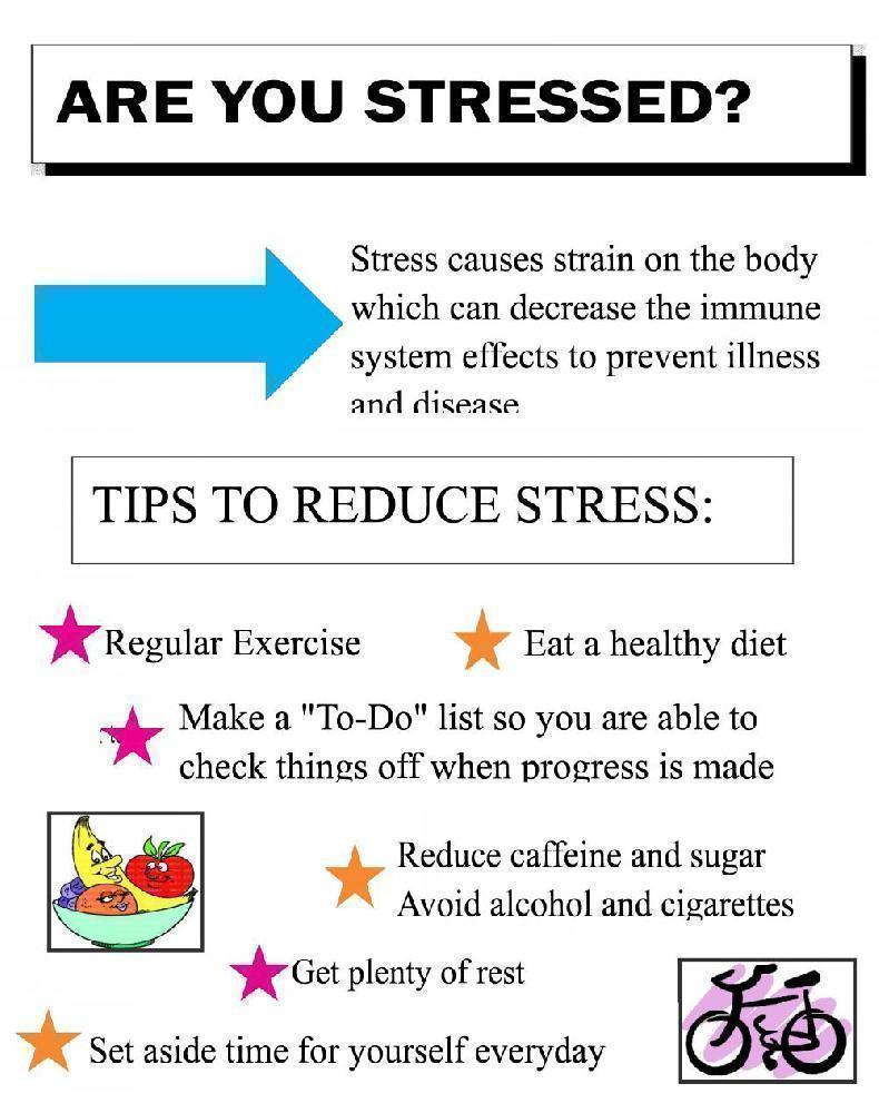 make a health science fair project about how to reduce