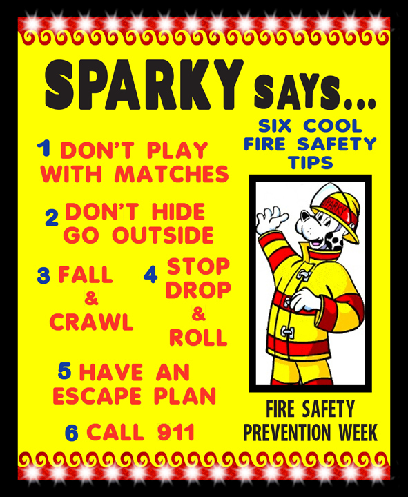 Make A Fire Safety Tips Poster Fire Safety Poster Ideas