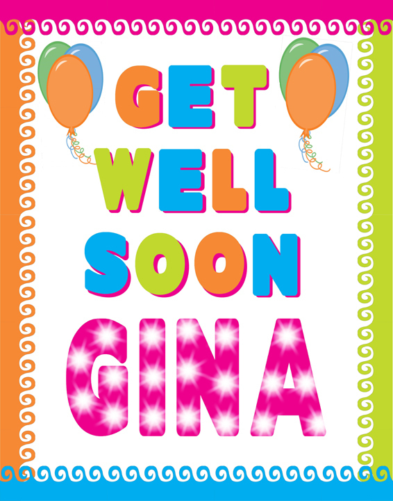 make a get well soon poster get well poster ideas