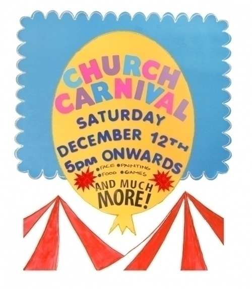 Create A Church Carnival Poster Church Event Poster
