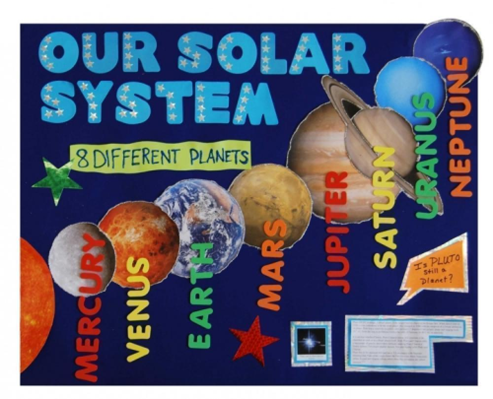 solar system projects on poster board page 4 pics