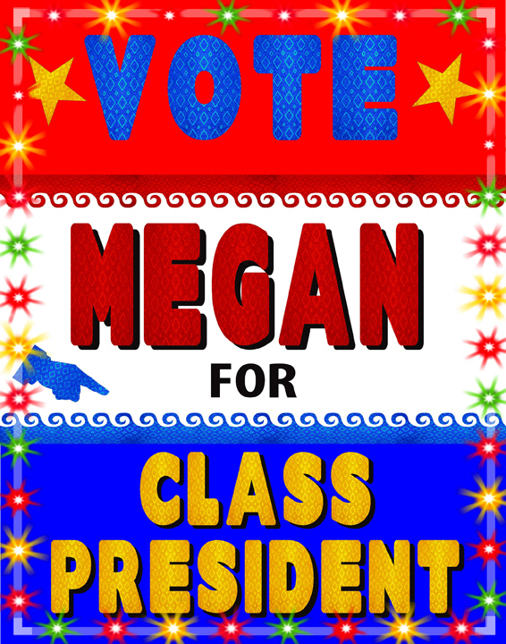 Make a School Election Poster | Voting for Class President