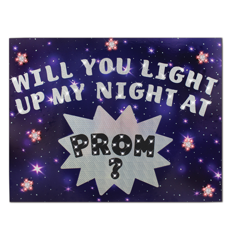 how to make a prom poster