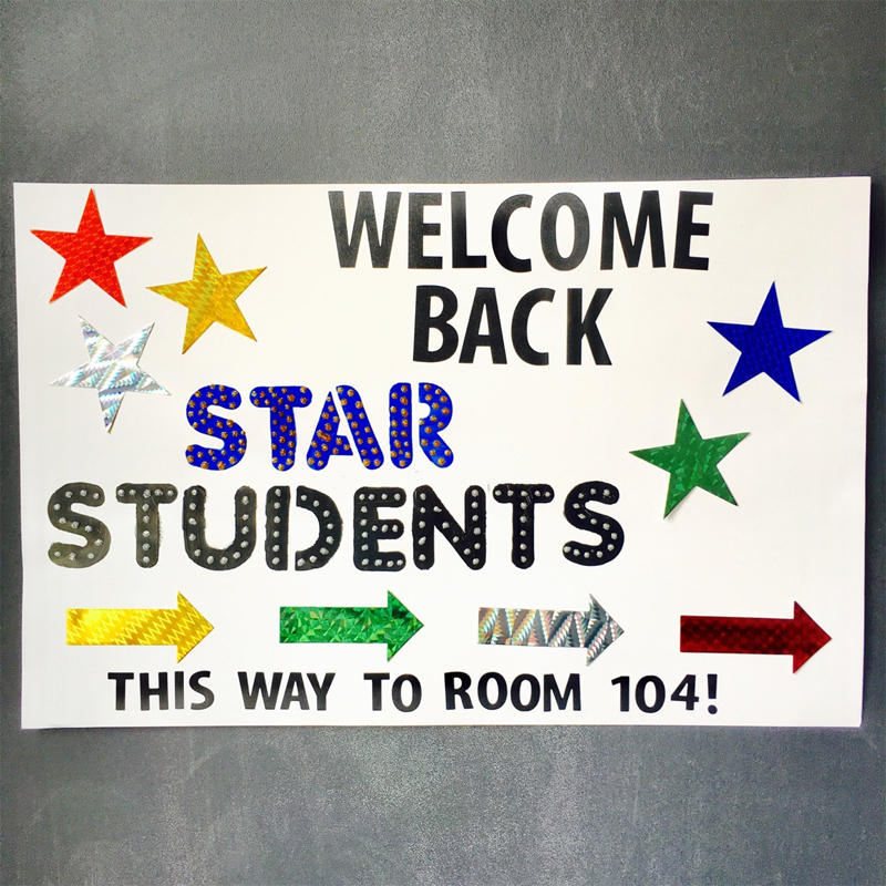 welcome back students banner welcome back students