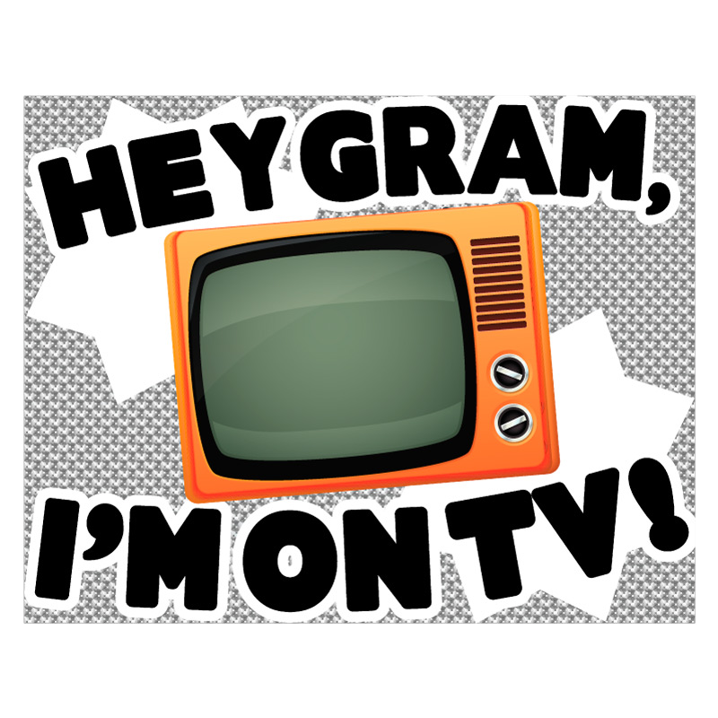 I'm on TV | Today Show Poster Idea